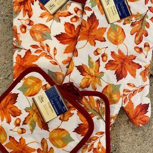 Fall Leaves Kitchen Set